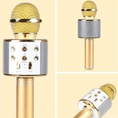 The Cheapest Professional Ws 858 Multi Function Karaoke Bluetooth Microphone Wireless Loudspeaker With Mic Speaker Online