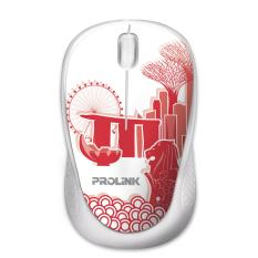 [BUY 1 GET 1 FREE]  PROLiNK Artist Collection: USB Optical Mouse (UniquelySG)
