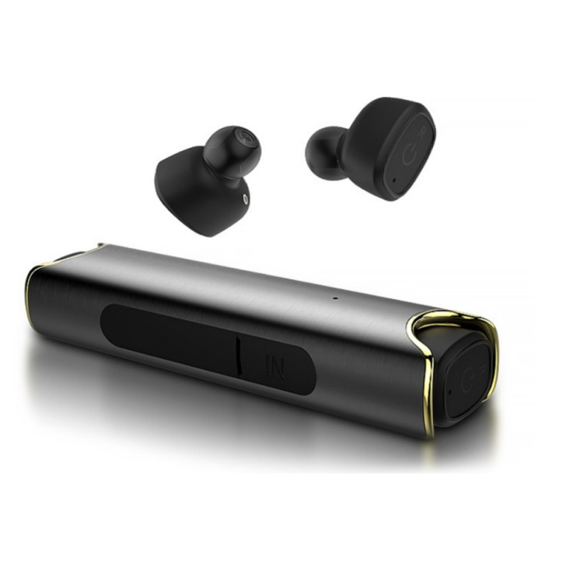 Protable Bluetooth Headphones Sports Headsets With Stereo Noise Cancelling Sweatproof Earbuds And Charging Case - intl Singapore