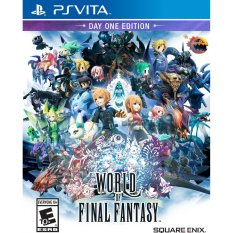 Price Compare Ps Vita World Of Final Fantasy Day 1 Edition R1 English