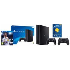 Best Offer Ps4 1Tb Pro Console With 2 Controllers Black Fifa 18 2 Yrs Warranty