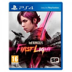 Sale Ps4 Infamous First Light Singapore Cheap