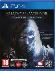 Ps4 Middle Earth Shadow Of Mordor Game Of The Year Edition R2 On Line