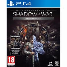 Purchase Ps4 Middle Earth Shadow Of War Silver Edition R3 English