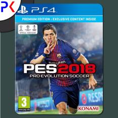 Buy Ps4 Pro Evolution Soccer 2018 Premium Edition R2 On Singapore