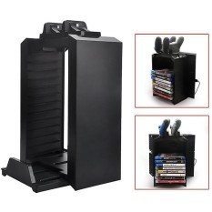 Pro Slim One Vertical Stand Multifunctional Cooling Fan with Game Storage Kit