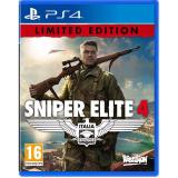 Ps4 Sniper Elite 4 Italia Limited Edition R2 Rebella Mode Discount