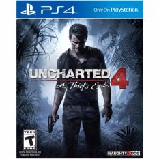 Compare Price Ps4 Uncharted 4 A Thief S End Region 3 English Chinese On Singapore