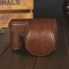 Deals For Pu Camera Bag Case Cover Pouch For Sony A5000 A5100 Nex 3N New Coffee Intl