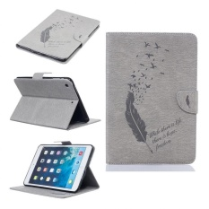 Discount Pu Leather Back Case Cover For Apple Ipad Mini 1 2 3 Grey Intl China
