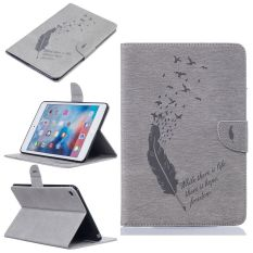 Wholesale Pu Leather Back Case Cover For Apple Ipad Mini 4 Grey Intl