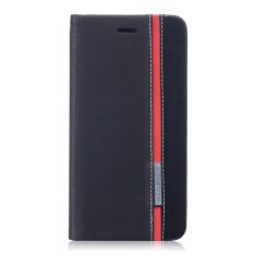 Price Pu Leather Flip Case Cover For Asus Zenfone 3 Ze552Kl 5 5 Inch Black Red China
