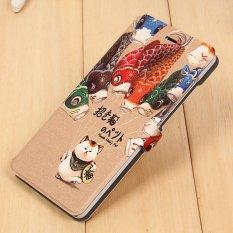 Price Pu Leather Flip Smart Phone Cover Case For Xiaomi Mi Note Multicolor Intl Oem