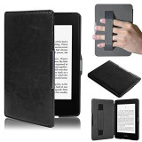 Review Pu Leather Folio Case Cover For Amazon Kindle Paperwhite Black On China