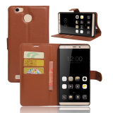 Price Pu Leather Wallet Case Cover For Leagoo Shark 1 Brown Intl Oem Online