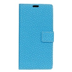 Buy Pu Leather Woven Pattern Wallet Case Cover For Lg V30 Plus Black Intl Not Specified Original