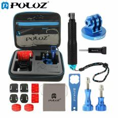 Buy Puluz 15 In 1 Cnc Metal Accessories Combo Kit With Eva Case Screws Surface Mounts Tripod Adapter Extendable Pole Monopod Storage Bag Wrench For Gopro Hero4 Session 4 3 3 2 1 Export China