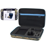 Coupon Puluz Camouflage Pattern Waterproof Carrying And Travel Case For Gopro Hero5 4 3 3 2 1 Puluz U6000 And Accessories Large Size 32Cm X 22Cm X 7Cm Intl