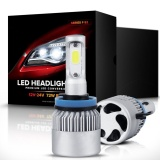 Best Q Shop Led Headlights F S2 Series Headlight Kits H7 Led Headlight Bulbs With 2 Pcs Of Conversion Kits 72W 8000Lm Bridgelux Cob Chips Fog Light Hid Headlight Or Halogen Replacement Intl