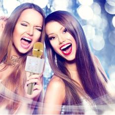 Sales Price Q7 Pink Multi Function Karaoke Bluetooth Microphone Wireless Loudspeaker With Mic Speaker Ktv Singing Record Pink