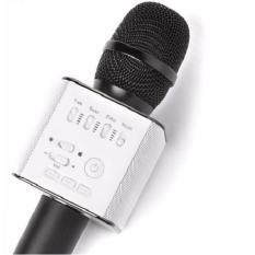 Sale Q9 Bluetooth Karaoke Microphone Wireless Ktv Singing Record Professional Player Speaker Oem On Singapore