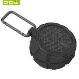Best Rated Qcy Outdoor Speaker Wireless Bluetooth Stereo Speakers Ipx7 Waterproof Support 3 5Mm Aux Sound For Cycling Beach Shower Box2 Intl