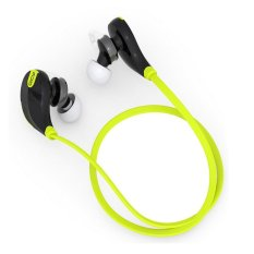 Best Deal Qcy Qy7 Bluetooth 4 1 Stereo Earphone Fashion Sport Running Studio Music Headset With Microphone Green