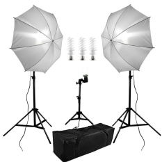Qf 600W 5500K Photo Studio Continuous Lighting Umbrella Kit With 33 84Cm White Umbrella 200Cm Adjustable Light Stands 50Cm Table Top Light Stand Light Holder 38W Photo Studio Light Bulbs Carry Bag Set For Portrait Photography Intl Discount Code