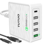 Price Qualcomm Quick Charge 3 Usb C Travel Wall Charger For Iphone 6 7 Xiaomi W Mirco Usb Cable Intl China