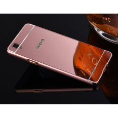... INTL Home Source Secret Garden Tpu. Source · Quality Aluminum Metal Frame Plating Mirror case for OPPO A35/F1(rose gold)