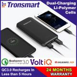 Sale Quick Charge 3 Tronsmart Edge 10000 Powerbank With Quick Charge 3 And Voltiq 10000Mah Tronsmart On Singapore