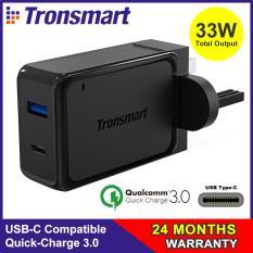 Buy Quick Charge 3 Usb C Tronsmart 33W Dual Usb Wall Charger With Quick Charge 3 Usb C For S8 S8 Lg G5 G6 Iphones Htc 10 Nexus 6P Nexus 5X And More Sg 3Pin Plug W2Ptu Online
