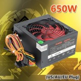 Quiet 650W For Intel Amd Pc 12V Atx Computer Power Supply 12Cm Fan 80 Gold Intl Shop