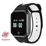 Best Rated Qw11 Smart Bracelet Blood Pressure Heart Rate Monitor Step Tracker Call Sms Alert Ios Android