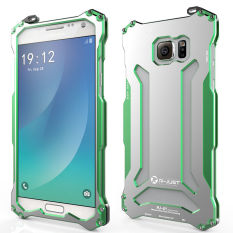 R Just Aluminum Metal Shockproof Frame Bumper Armor Case For Samsung Galaxy Note 5 N9200 Green Intl Reviews