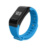 R3 Waterproof Smart Band Heart Rate Blood Pressure Monitor Fitness Tracker Blue Intl For Sale Online