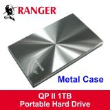 Compare Price Ranger Qp Ii Slim External Hard Disk Drive In Quality Metal Enclosures 1Tb For Pc And Mac On Singapore