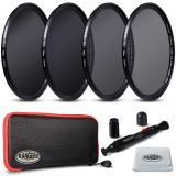 Rangers Nd2 Nd4 Nd8 Nd16 Filter Set 58Mm Neutral Density Slim Hd Mrc Ra18 4Pcs Shop