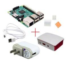 Price Comparison For Raspberry Pi 3 Model B Official Case 5V 2 5A Plug Heatsink Kit