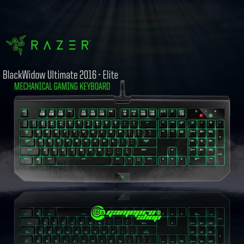 Razer Blackwidow Ultimate 2016 Gaming Keyboard (Green Switch - clicky) *GSS PROMO* Singapore