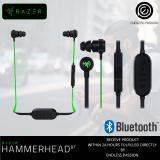 Sale Razer Hammerhead Bluetooth Wireless Headphones In Line Remote Mic Razer On Singapore