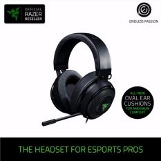 Discount Razer Kraken 7 1 Chroma V2 Usb Gaming Headset 7 1 Surround Sound With Retractable Digital Microphone And Chroma Lighting Oval Ear Cushions Razer Singapore
