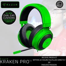 Razer Kraken Pro V2 Oval Ear Cushions Green Black White Coupon Code