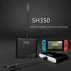 Sale Ready Stock Type C To Hdmi Adapter Type C Dock Type C Hub Ultra Mini Portable Sh350 Black Plug And Play Data Transfer Samsung S8 Intl Hong Kong Sar China Cheap