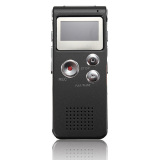Discount Rechargeable 8Gb Digital Voice Recorder Audio Dictaphone Mp3 Player Black