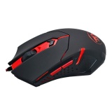 Shop For Redragon M601 Wired Gaming Mouse 3200 Dpi 6 Buttons Ergonomic Black Red Intl