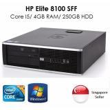 Sale Refurbished 2 Months Warranty Hp 8100 Elite Core I5 Hp Original