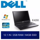 Buy Refurbished Dell E4200 Laptop 12 1In C2D 2Gb Ram 64Gb Ssd 1Mth Warranty Cheap On Singapore