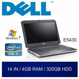 Where To Shop For Refurbished Dell E5430 Laptop 14In I5 4Gb Ram 320Gb Hdd W7 1Mth Warranty