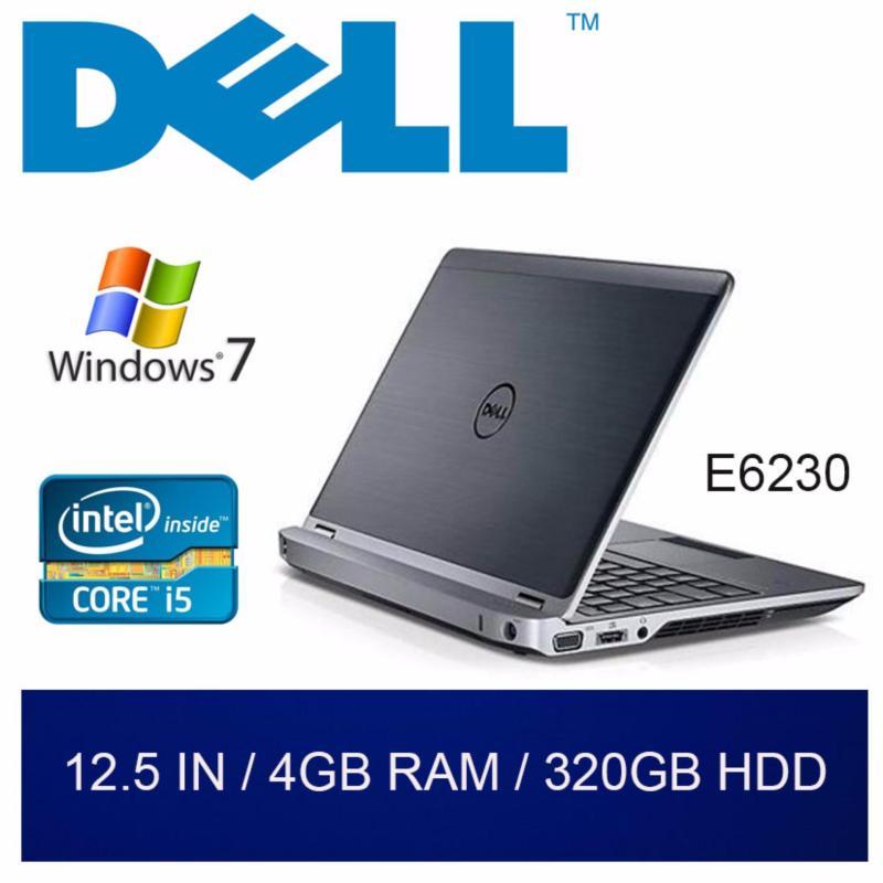 Refurbished Dell E6230 Laptop / 12.5 inch / Intel Core i5 / 4GB RAM / 320GB HDD / Windows 7 / One Month Warranty